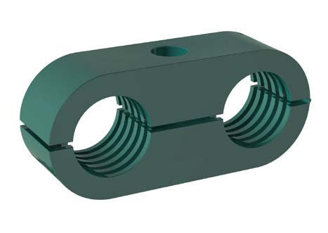 "3/8"" O.D. LNGF Series Clamp"