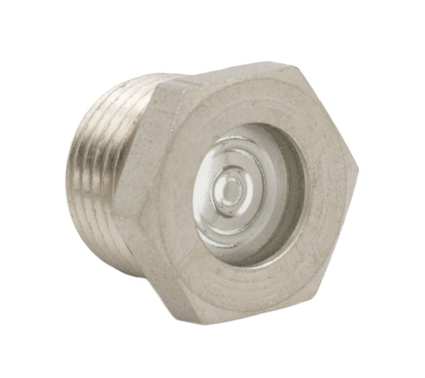 "1-1/4"" NPT Metal Sight Glass"