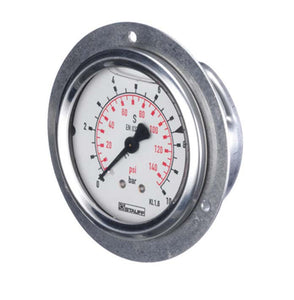 Stauff 0-3000PSI Panel Mount Pressure Gauge
