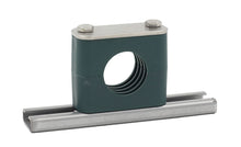 "Load image into Gallery viewer, 3"" Pipe Rail Mount Stauff Clamp, 304 Stainless Steel Hardware"