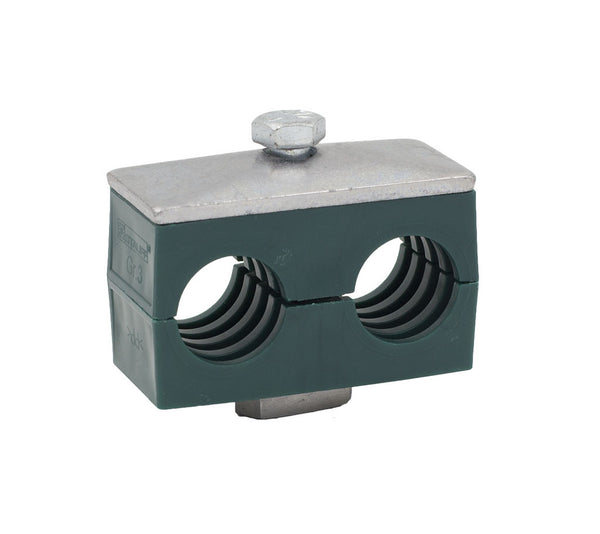 "1-1/4"" Pipe Twin Series Rail Mount Clamp"