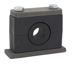 "3/4"" Tube Rubber Insert Clamp Stauff Heavy Series"
