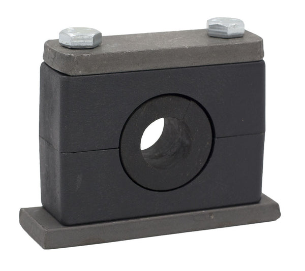 "7/8"" Tube Rubber Insert Clamp Stauff Heavy Series"