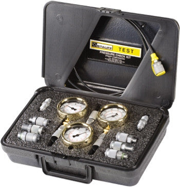 Stauff 3 Gauge Pressure Test Kit