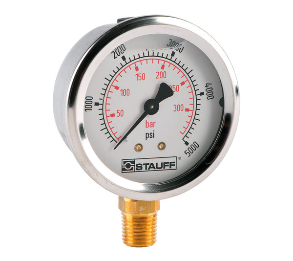 Stauff -30HG to 0PSI Pressure Gauge