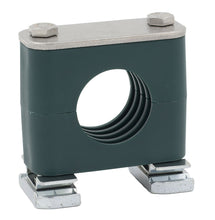 "Load image into Gallery viewer, 3/4"" Pipe Strut Mount Stauff Clamp, 316 Stainless Steel Hardware"
