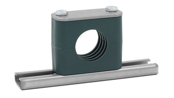 "1/2"" Pipe Rail Mount Stauff Clamp, Zinc Plated Hardware"