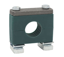 "Load image into Gallery viewer, 1-1/2"" Tube Heavy Series Strut Mount Clamp, Zinc Plated Hardware"