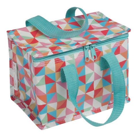 Lunch bag isotherme motif geometric