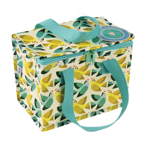 Lunch bag isotherme motif oiseaux