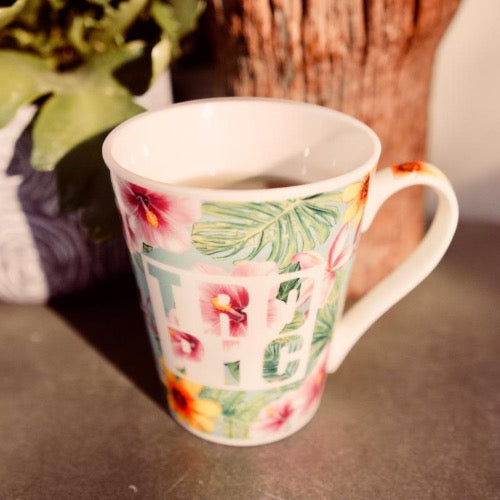 mug tropicool tropical
