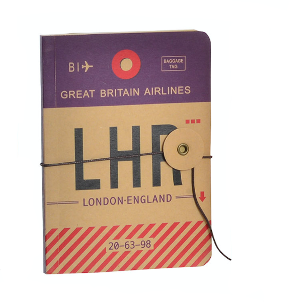 carnet de note - Aéroport Londres