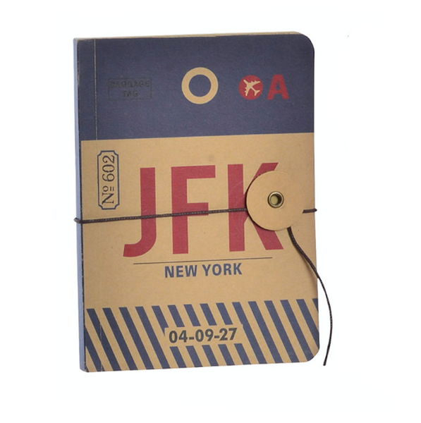 Carnet de notes - Aéroport New-York JFK