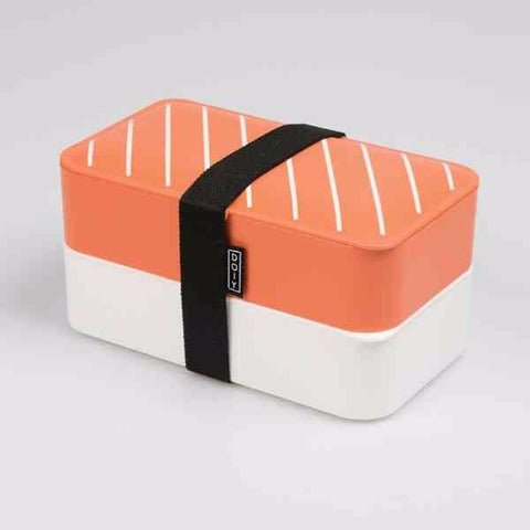 Lunch box boite bento saumon nigiri