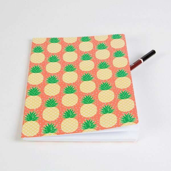 Cahier fantaisie ananas papeterie pineapple notebook