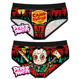 Culotte camp blood jason vendredi 13 slip period panties
