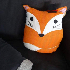 Renard coussin fox dandy gentleman