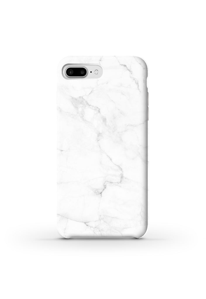 Phone Case with white marble pattern, Handyhülle weißer Marmor