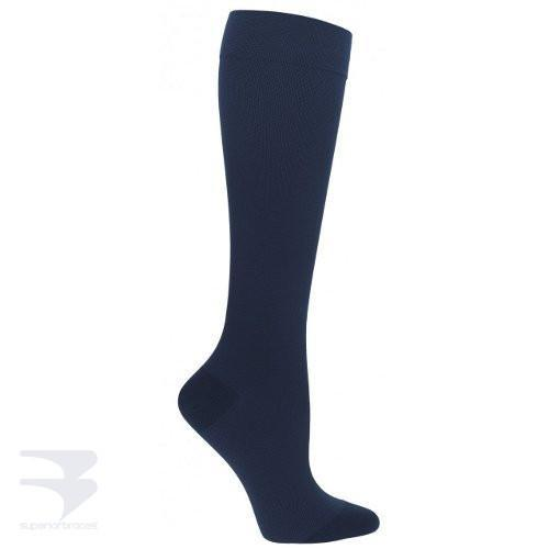 Men's Ribbed Dress Support Socks (30-40 mm Hg Compression) -  by Advanced Orthopaedics - Superior Braces - SuperiorBraces.com