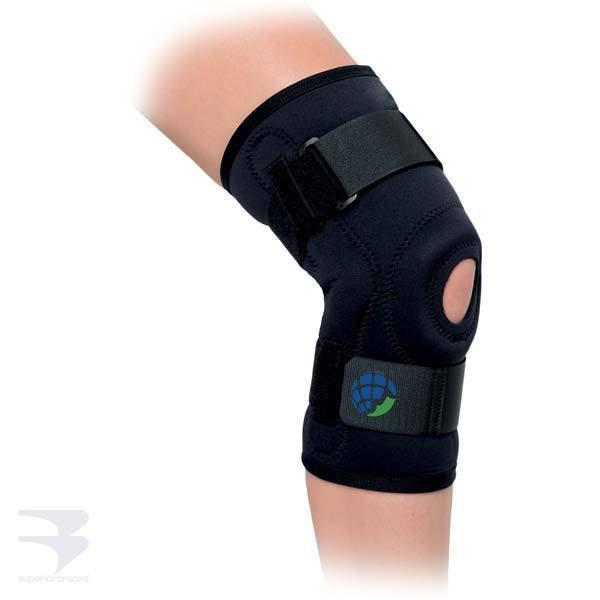 Deluxe Hinged Knee Brace -  by Advanced Orthopaedics - Superior Braces - SuperiorBraces.com