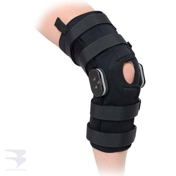 TM Wrap Around Hinged Knee Brace -  by Advanced Orthopaedics - Superior Braces - SuperiorBraces.com