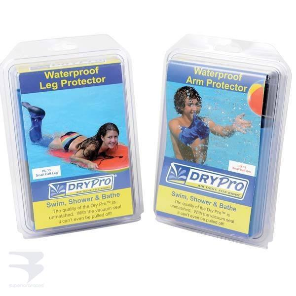 Dry Pro Waterproof Cast Protector Covers -  by Advanced Orthopaedics - Superior Braces - SuperiorBraces.com