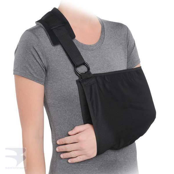 Deluxe Universal Length Arm Sling -  by Advanced Orthopaedics - Superior Braces - SuperiorBraces.com