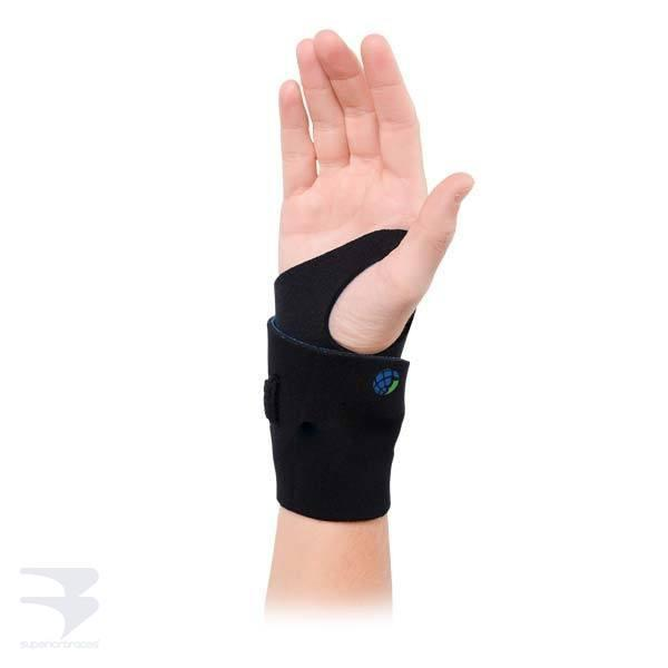 Universal Neoprene Wrist Wrap Support -  by Advanced Orthopaedics - Superior Braces - SuperiorBraces.com
