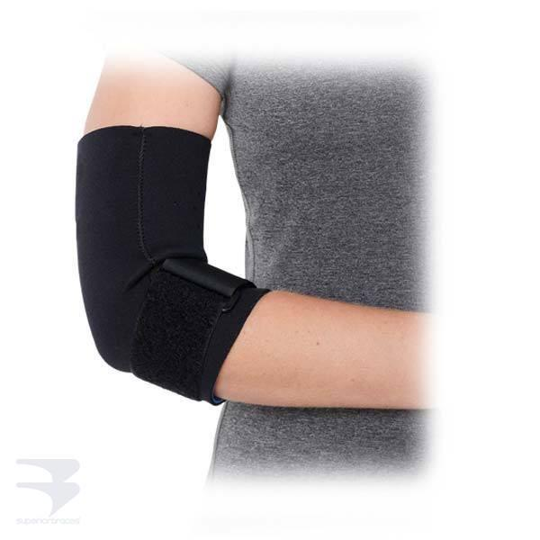 Neoprene Tennis Elbow Sleeve with Strap -  by Advanced Orthopaedics - Superior Braces - SuperiorBraces.com