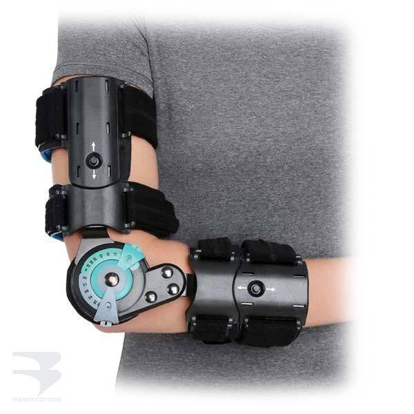 Hinged R.O.M. Elbow (Universal Size) -  by Advanced Orthopaedics - Superior Braces - SuperiorBraces.com