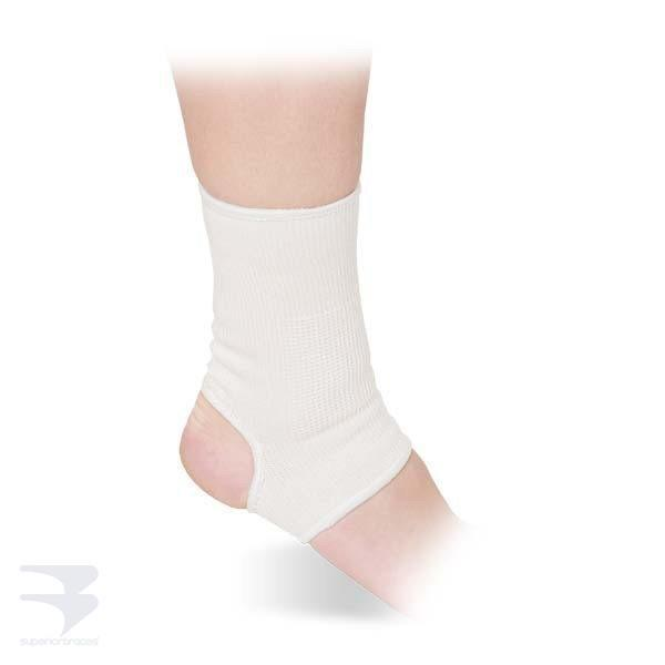 Elastic Slip-On Ankle Support -  by Advanced Orthopaedics - Superior Braces - SuperiorBraces.com