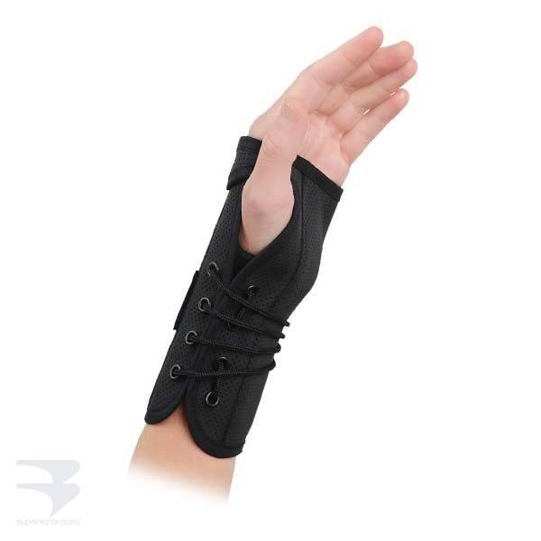 K. S. Lace Up Wrist Splint -  by Advanced Orthopaedics - Superior Braces - SuperiorBraces.com