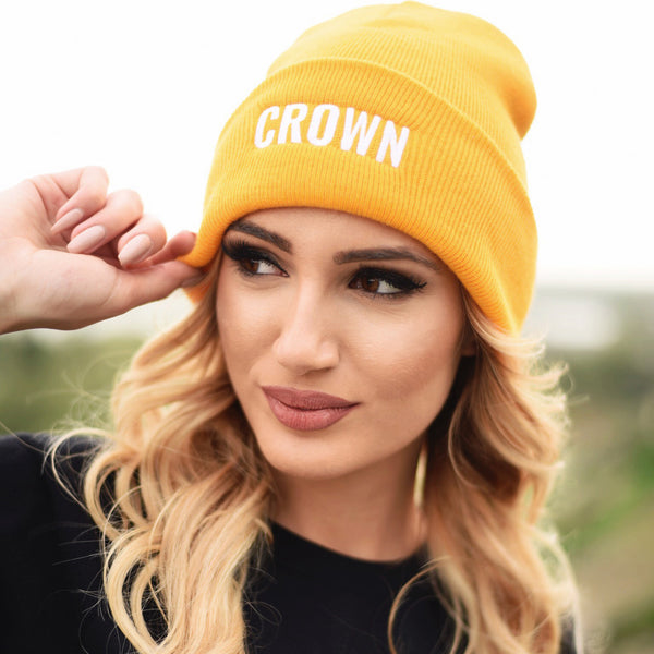 """Crown"" Hat Gold"