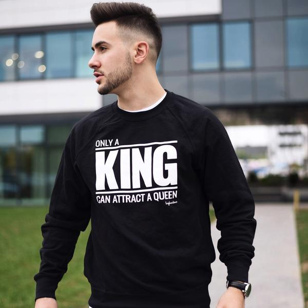 King California Sweatshirt Black