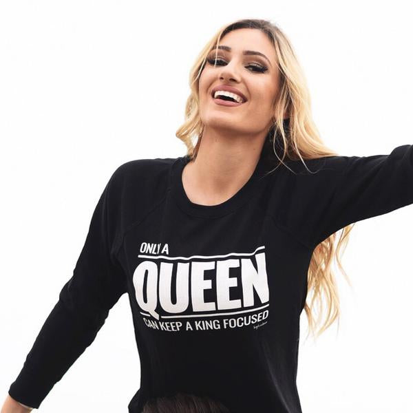 Queen California Sweatshirt Black