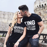 King can't be a King without the strength of his Queen.