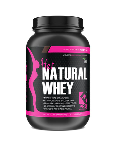 Her Natural Whey Protein Powder - 2 lb