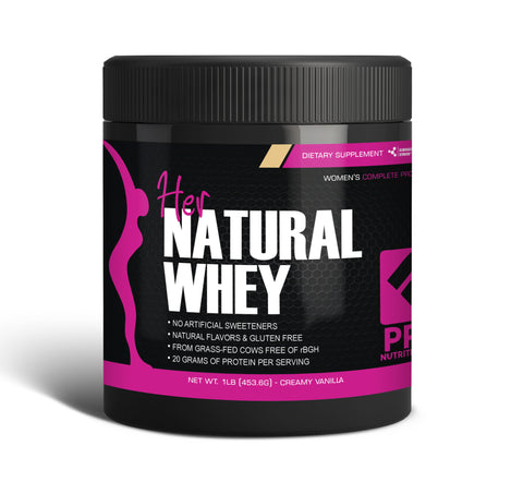 Her Natural Whey Protein Powder - 1 lb