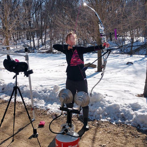 Training in February @libertyannarchery