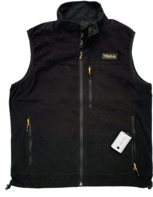 Fleece Heated Vest with 7v rechargeable battery