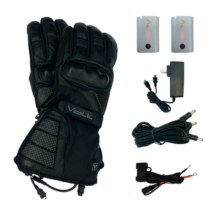 Volt Fusion gloves includes batteries, dual charger, 3 prong harness & battery harness
