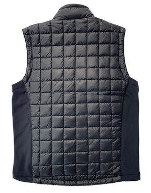 Heated Vest uses a 7v and 12v power source to heat