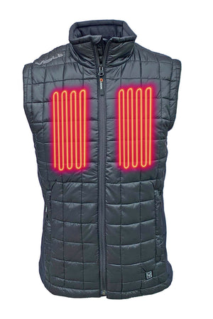 FUSION 12v/7v Dual Source Heated Vest with Bluetooth Therm Controller Switch