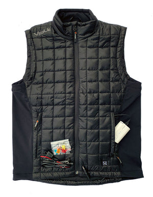 Volt Fusion Heated Vest comes with everything you need to heat using the motorcycle or rechargeable battery