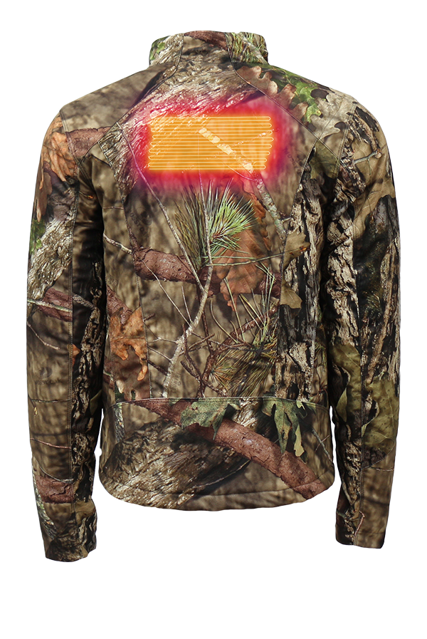 Camo 7v Insulated Heated Jacket Mossy Oak Country Volt