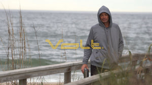 Volt Heated Hoodie is powered by a 5v Rechargeable USB battery