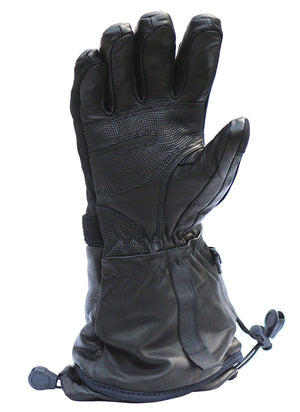 All leather heated gloves by Volt are perfect for skiing
