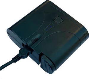 7V  Extended Run Battery can be operated using a wireless remote