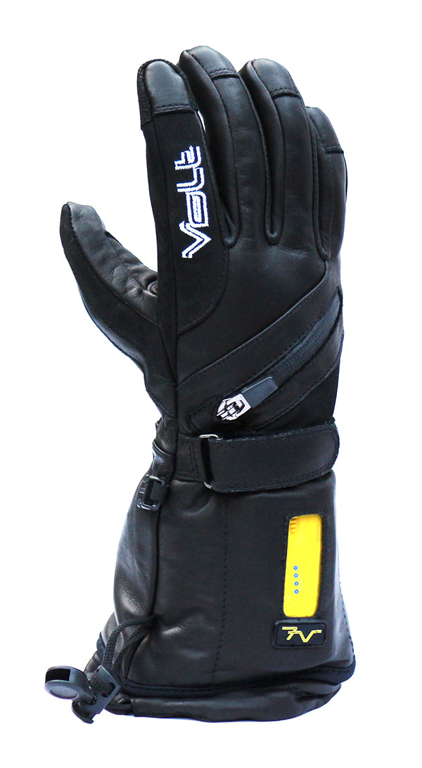 Titan Women's Leather Heated Gloves by Volt Heated Clothing