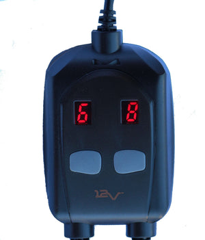DUAL 12v Therm Controller for Volt Motorcycle Heated Clothing